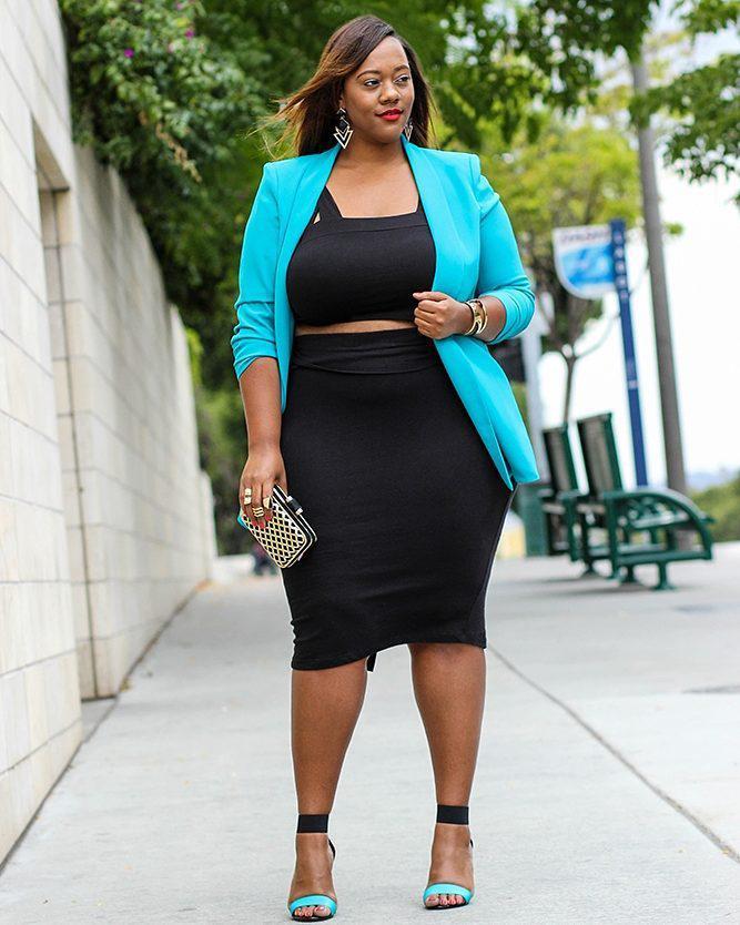 Little black dress, Plus-size model, Plus-size clothing