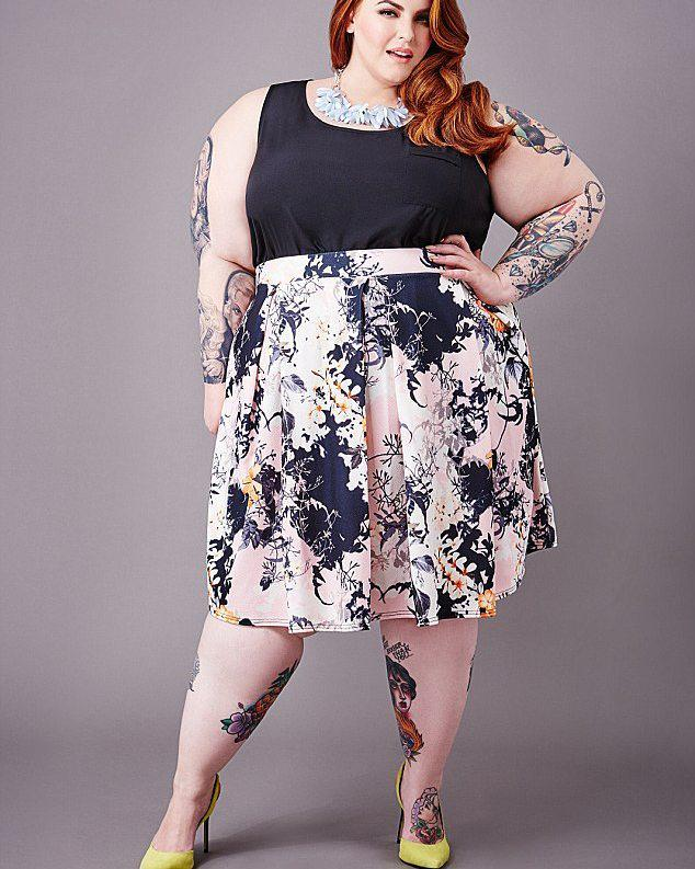 Fat acceptance movement, Tess Holliday, Weight loss