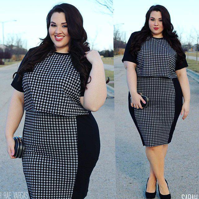 Fashion To Figure, Plus-size clothing, Polka dot
