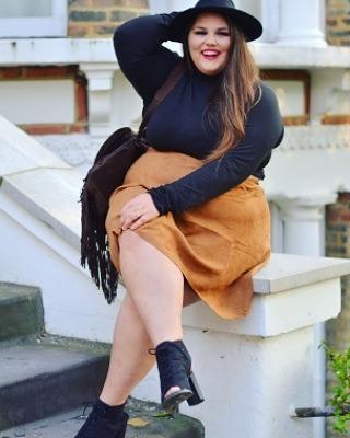 Fashion blog, Plus-size model – fashion, clothing, shoe, skirt