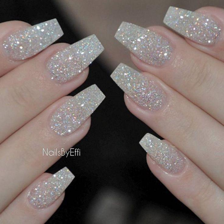 Beautiful Glitter Nails Designs For Special Occasions! on Stylevore