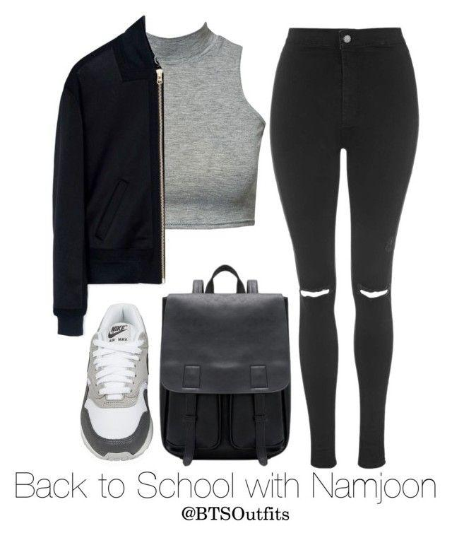 "e70069866 Black Jeans Outfit Ideas : ""Back to School with Namjoon"" by btsoutfits ❤  liked"