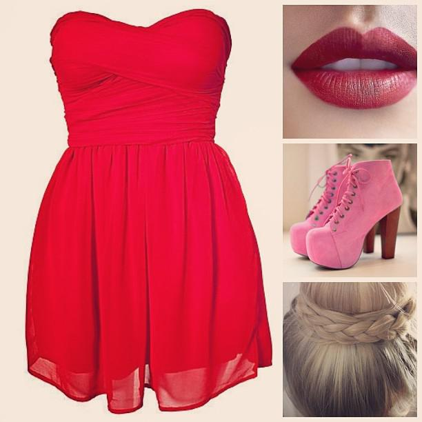 Cute Prom Outfit Ideas Red Prom Outfit 2013 Cute Fashion