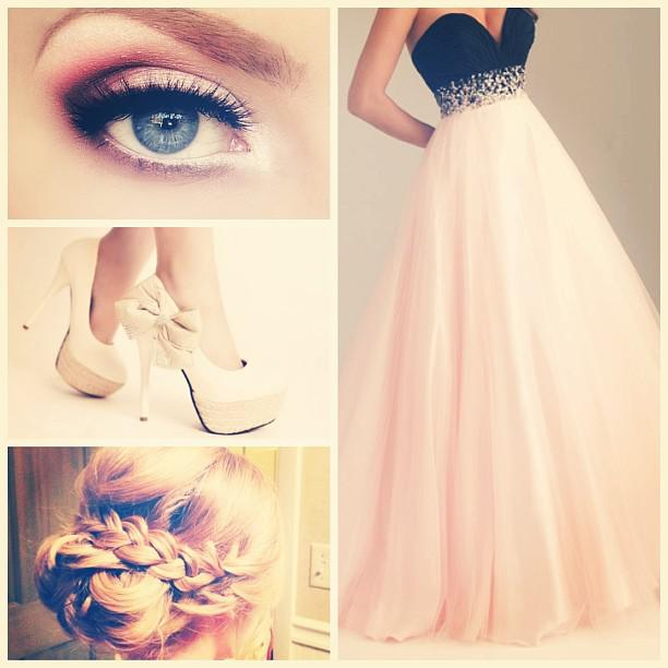 Prom outfit ideas tumblr: A little obsessive with pink? Wear it to prom! #prom #outfits #ootd #m ...