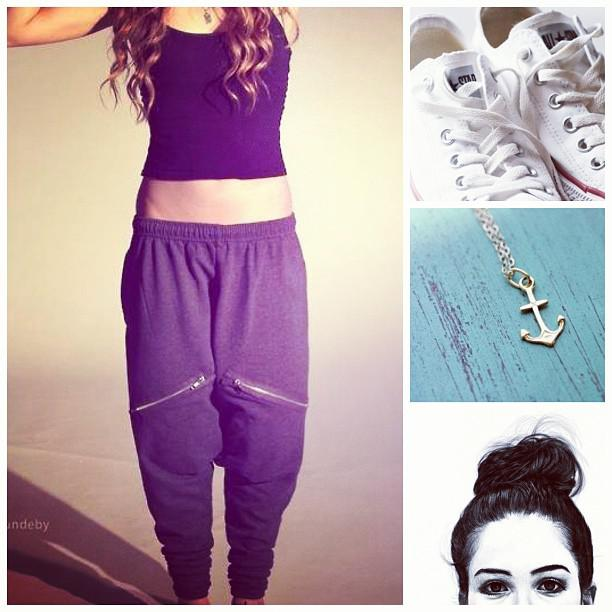 Cute Prom Outfit Ideas: #simple #outfit #chill #converse #anchor #amazing #love #buns #hair #mes ...