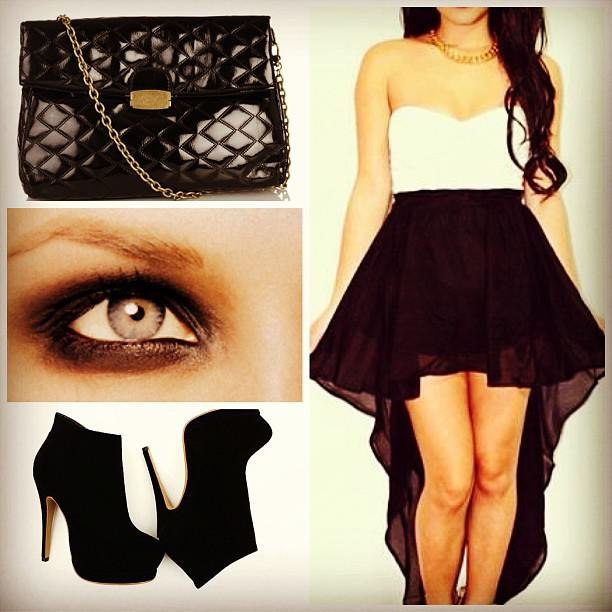 Cute Prom Outfit Ideas: #event #occasion #followme #follow #tags #like #black #bag #heels #eyes  ...