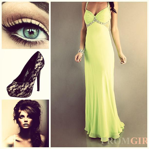 Cute Prom Outfit Ideas: Any green lovers?  #green #amazing #prom #live #laugh #love #cute #summe ...