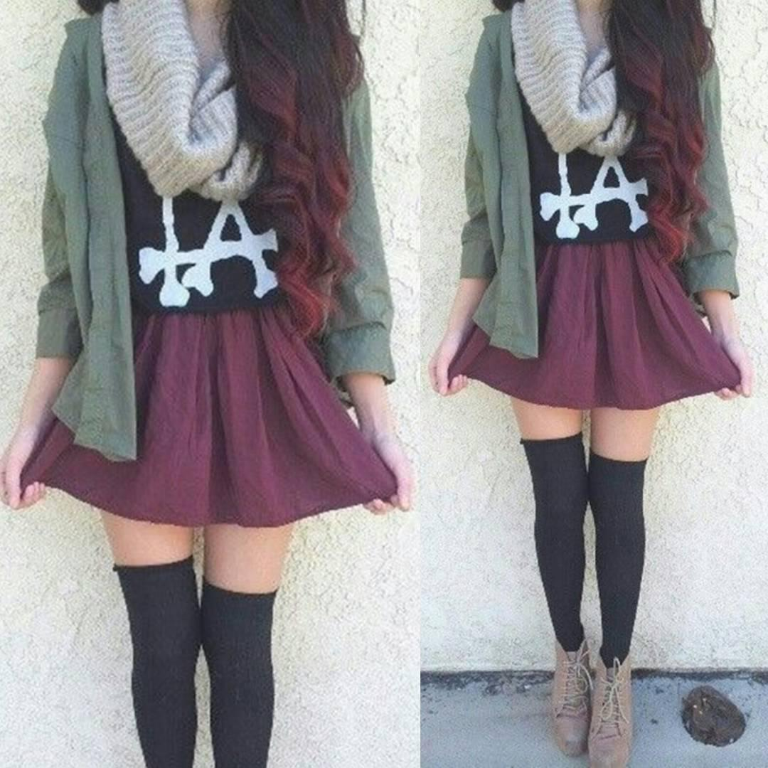 Tumblr Winter Outfits For School On Stylevore