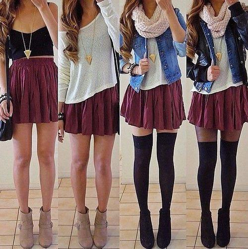 Typical Girl Fashion: Popular Teen Girls Street Fashion Ideas…. On Stylevore