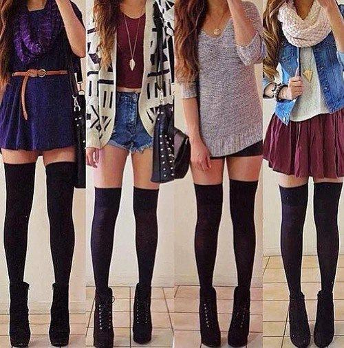 Choose your outfits for school or college….
