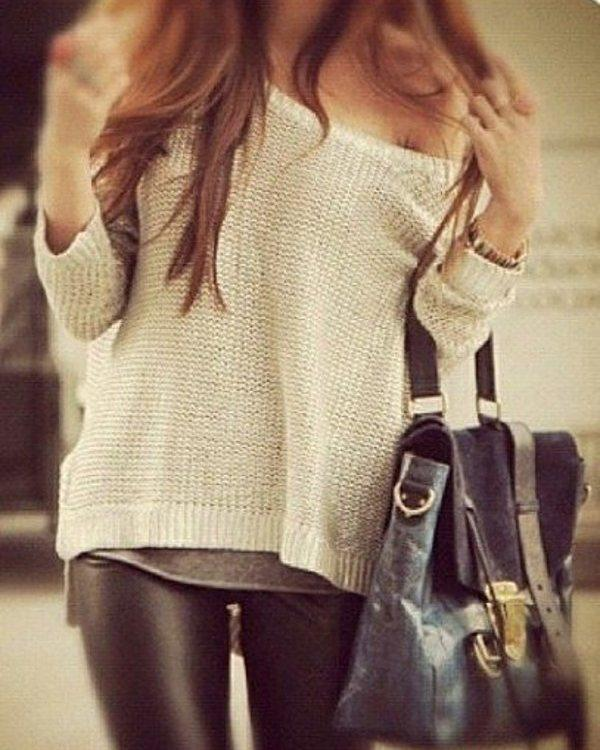 Leather Leggings Black. Wonderful Trending Skinny Jeans Outfits For SummerCasual wear Winter clo ...