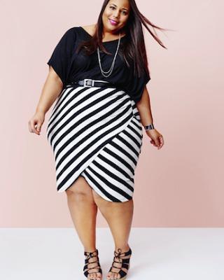 #plussize #blackandwhite #instafashion #beautywithplus #loveyourself #moderngirl…