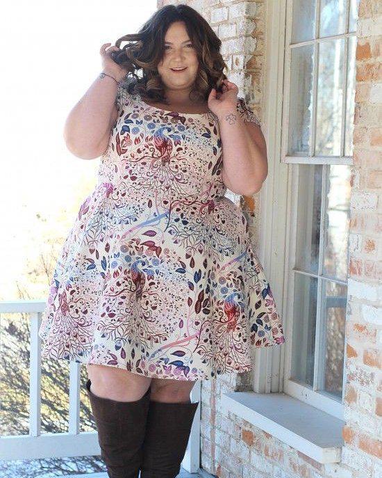 Women Summer Dress, Plus-size clothing, Cocktail dress