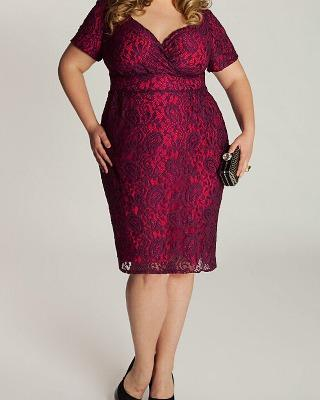 Size 18 20, Plus-size clothing, Cocktail dress