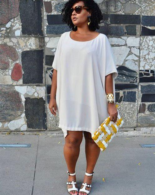 Plus Size Mini Dress For Women To Look Elegant