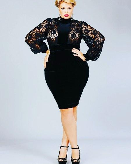 #plussize #hot #sexy #pretty #dress…
