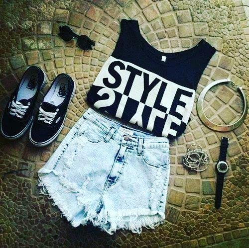 Conjuntos De Ropa Adolescentes Stylish Shorts Tumblr Outfits To Wear This Summerdress Swing Gym Shorts On Stylevore