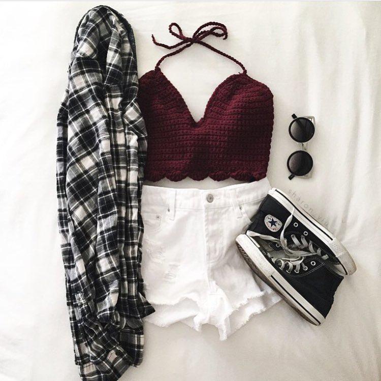 Shorts Outfit Punk rock