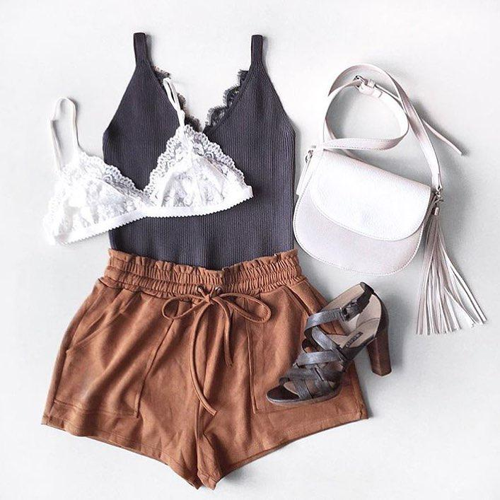 Outfits with shorts – clothing, waist