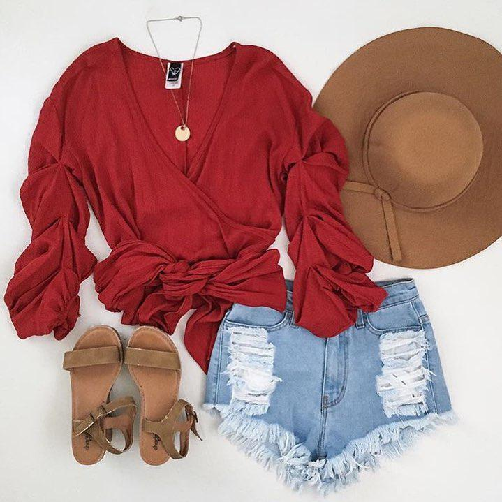 Shorts Outfit Casual wear, Petite size