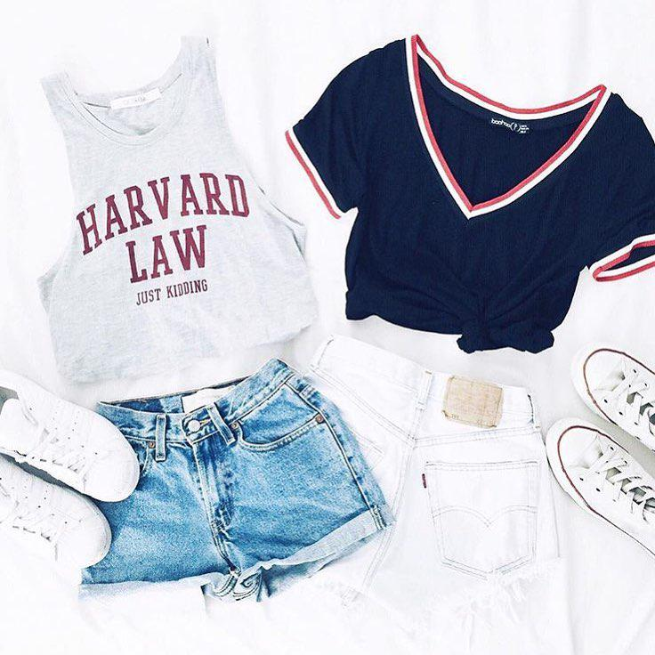 Shorts Outfit Casual wear, Grunge fashion