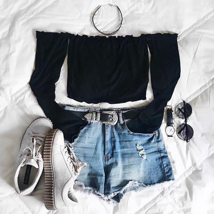 Shorts Outfit Casual wear, Dress shirt