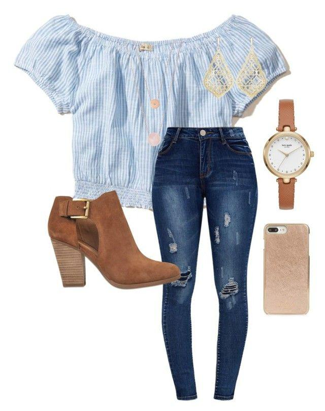 "c5be6336f6 Outfits for high school 2018  ""School"" by abbyharshman8 on Polyvore  featuring Hollis ."