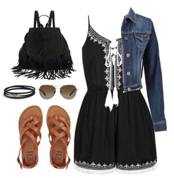 Back to school outfits: If you're anything like me, the thought of August being right aroun ...