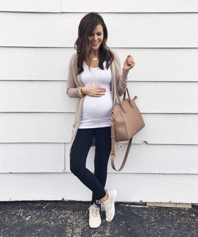 0d3e5f8385a Maternity Fashion 2018   I can t believe today marks 24 weeks pregnant with  this