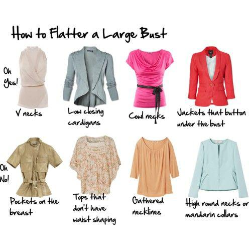 Outfits for beautiful curvy women : This is terrible advice, categorically, for someone with a l ...