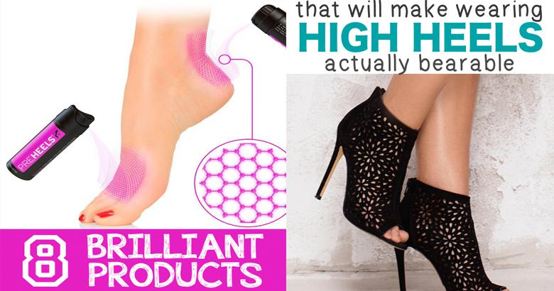 8 Products That Will Make Wearing High Heels Comfortable