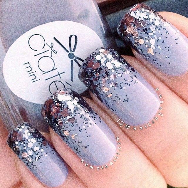 Purple And White Sparkle Design…