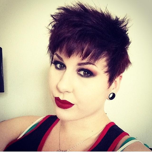 Best Short Pixie Cut Hairstyles 2018 : @christiana_x looks super lovely with her pixie cut! Don& ...