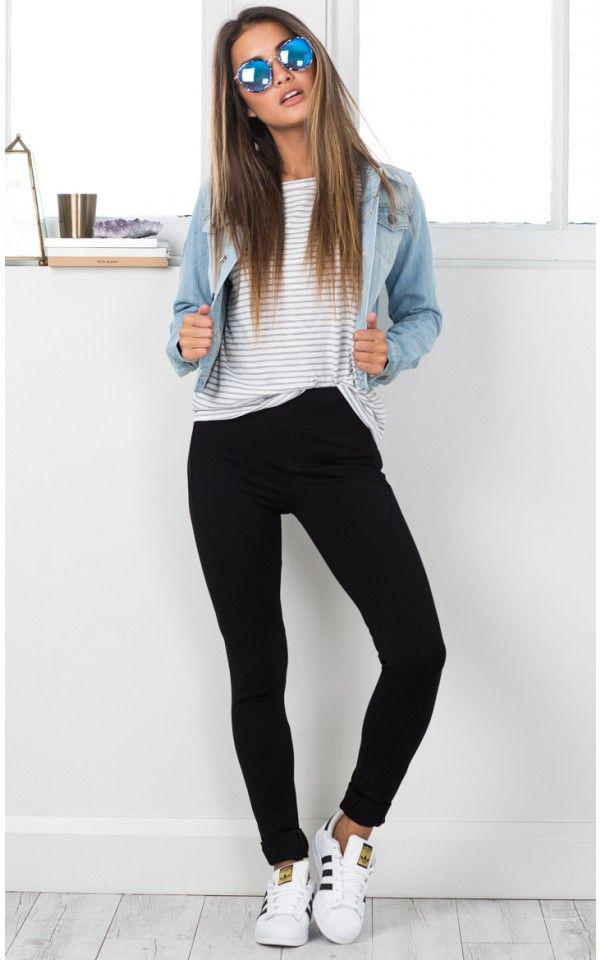 69e4dafc8d0 Cute Outfits with Black Skinny Jeans. on Stylevore