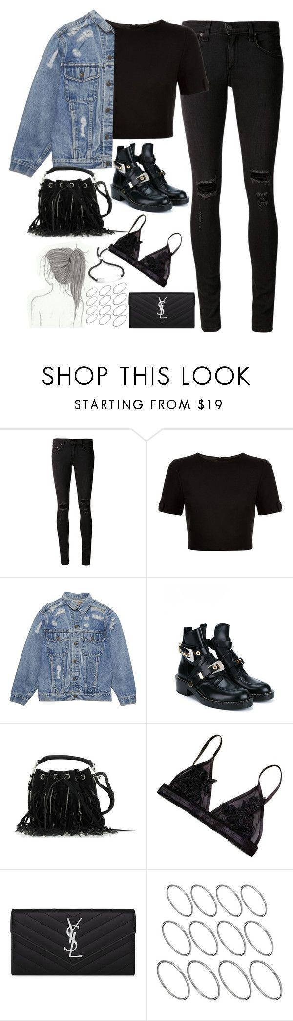 """3188a5109d541 Black Jeans Outfit Ideas : """"Untitled#4628"""" by fashionnfacts ❤ liked on  Polyvore"""