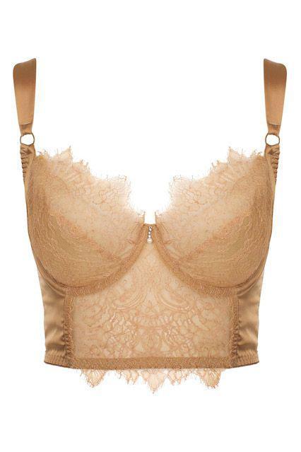 Outfits for beautiful curvy women : Fashion-Girl BrasFashionable options, like longline bras, ne ...