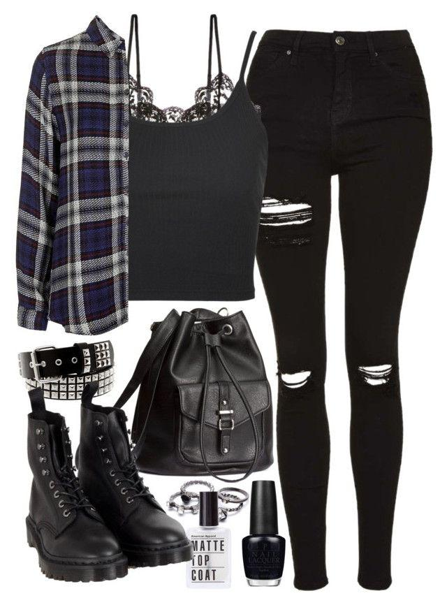 "86dc340d2207 Fresh New Ways to Wear Black Jeans   ""Requested outfit"" by ferned on  Polyvore"