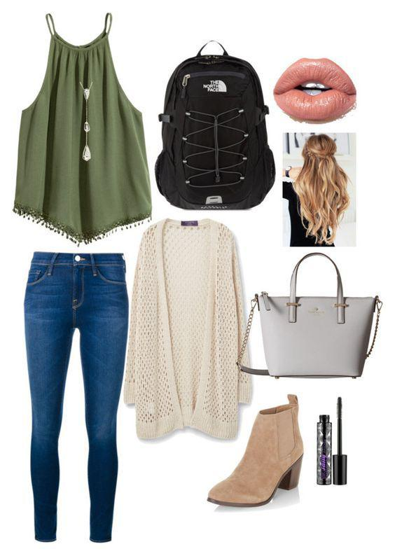 d358c9ac7c74 Back to school outfits  Lovely soft colors and details. Latest Fall    Winter Fashion