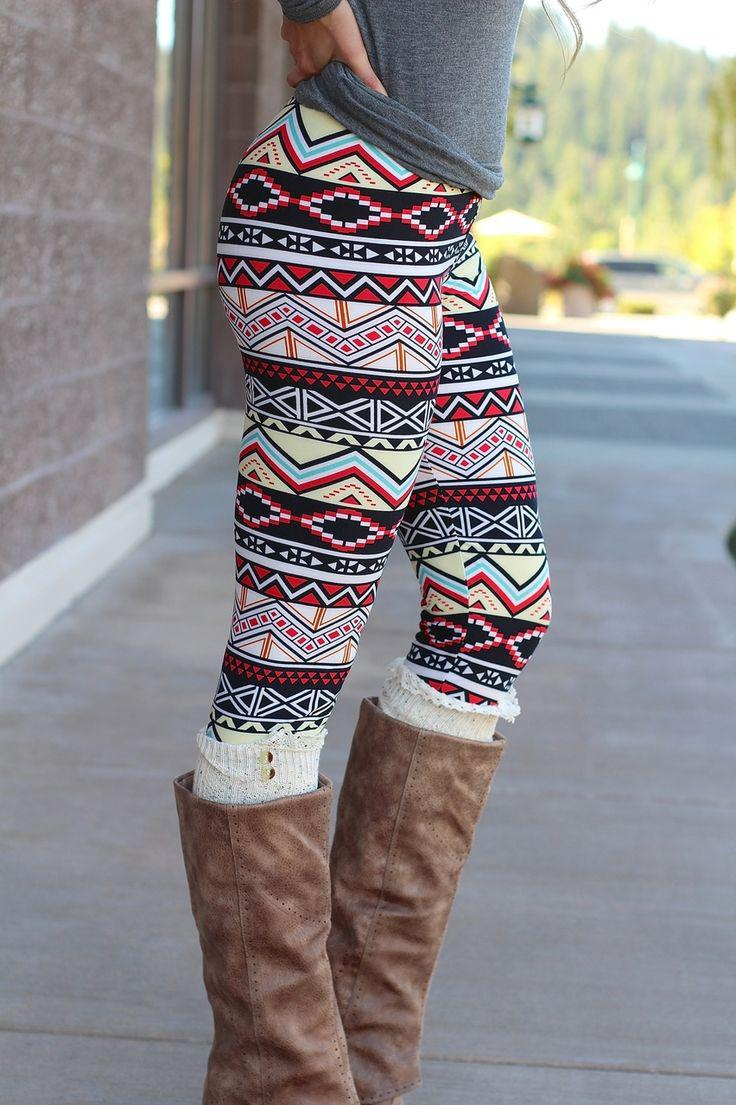 Fashion week Leggings Patterned outfit ideas for girls