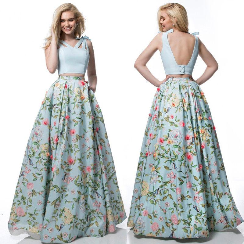 480cc5457e Women Lady Summer Boho Flare Pleated Casual Party Maxi Long Beach Skirt  Dress