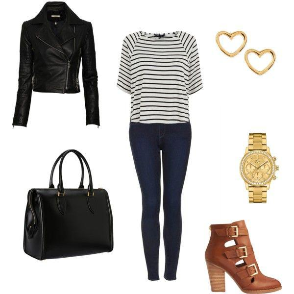 Winter Outfit IdeasStripes!