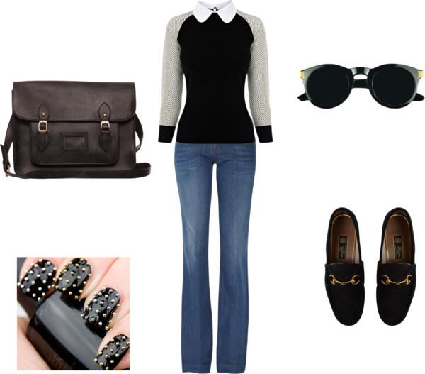 """Winter Outfit Ideas """"black"""" by meghan-e-m-keeler on Polyvore"""