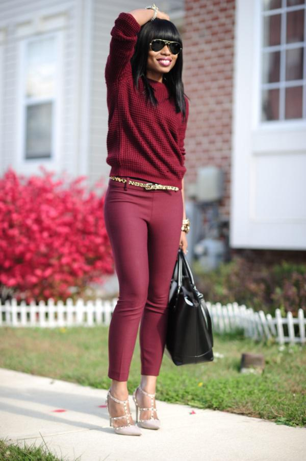 Magic of Maroon | Outfit For Girls
