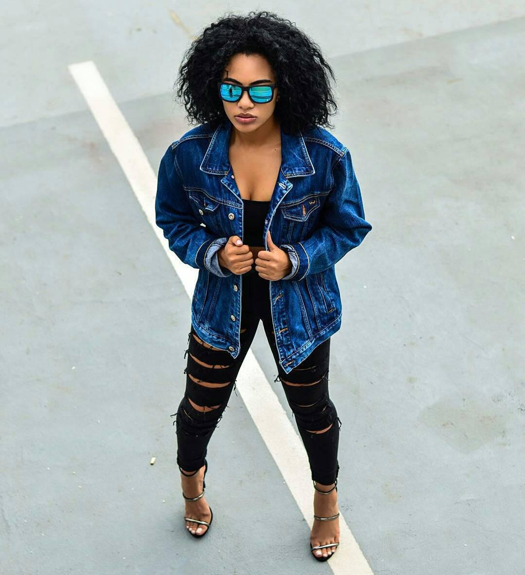 Black Girl Outfit Ideas: Cool Denim Swag Outfit That Looks Cool On Any Black Girl