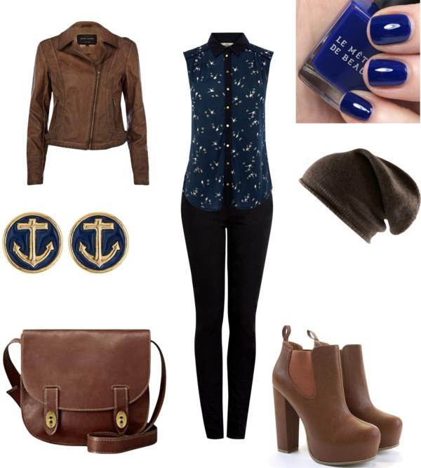 "Winter Outfit Ideas""Leather"" by meghan-e-m-keeler on Polyvore"