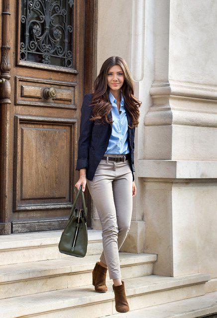 15981bfde3 Chic Outfit Idea with a Blazer on Stylevore