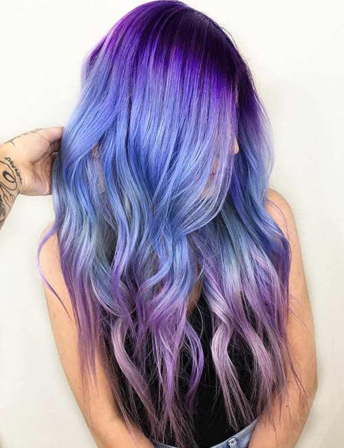 Talk About Movement This Beautiful Ombre Starts Off With