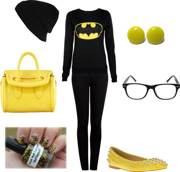 "Winter Outfit Ideas ""Batman!"" by meghan-e-m-keeler on Polyvore"