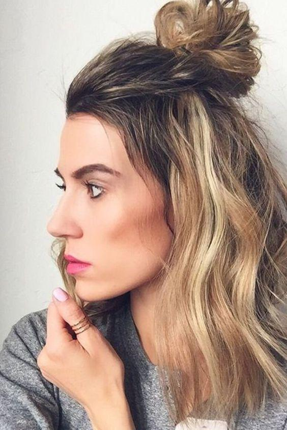 Super Easy Hairstyles For Dirty Hair To Save You On Super Stressful