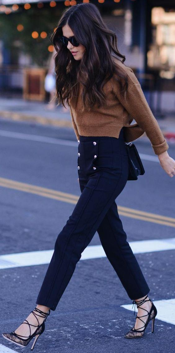 Do you own a cool pair of pants that have some sort of embellishment in front?